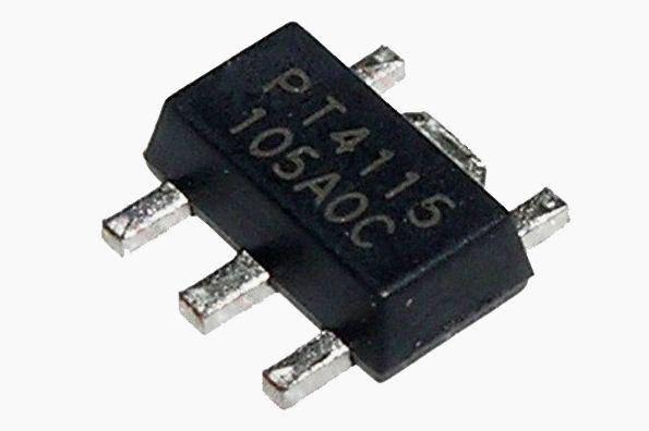 LED драйвер PT4115 PT4115B89E SOT89-5 , фото 2