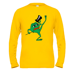 Лонгслив pepe the frog