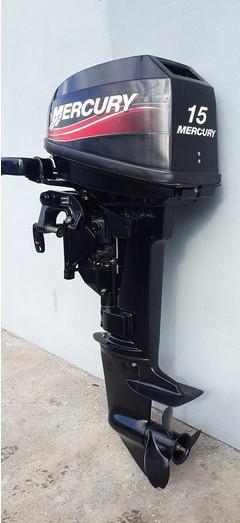 Mercury 15 двухтактный фото