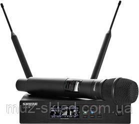 Shure QLXD24KSM9 цифровая радиосистема UHF с ручным кардиоидным/суперкардиоидным микрофоном