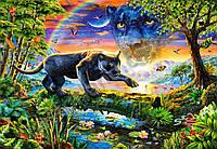 "Кастор пазлы 1500 ""Пантера в сумерках""68*47 /14/(С-151356)"