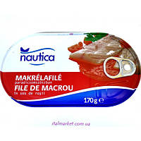 Филе макрели в томатном соусе - 170 г