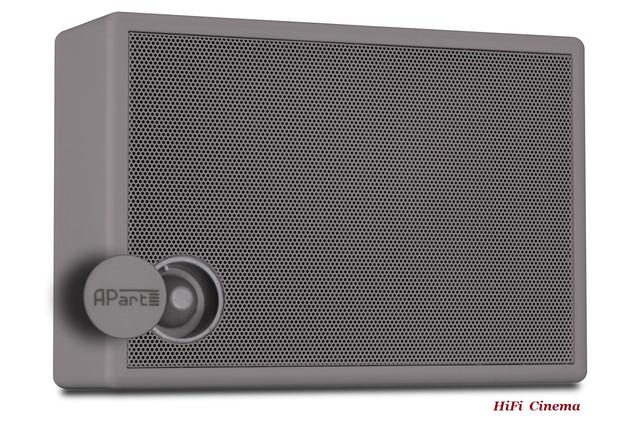 Apart SMB6V-G Настенный громкоговоритель в закрытом корпусе с регулятором громкости