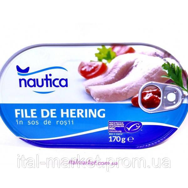 Филе рыбное в томатном соусе Fillets de Herring 170 г