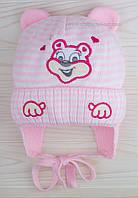 Демисезонная шапка Дейл светло-розовая
