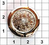Литые кнопки для одежды AN 23 с механизмом ALFA упаковка 1000 штук, фото 3
