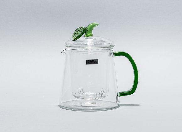 """Стеклянный заварник для чая """"CHI KAO"""" 480мл."""