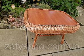 Плетеный стол прямоугольный  большой