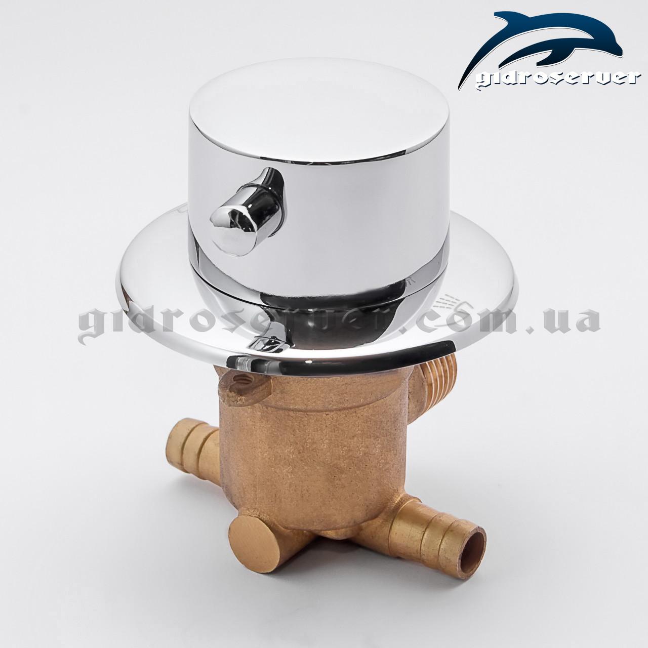 Дивертор для смесителя душевого бокса PS-02.