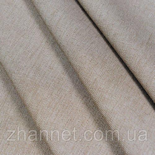 Ткань для штор Afina темный беж