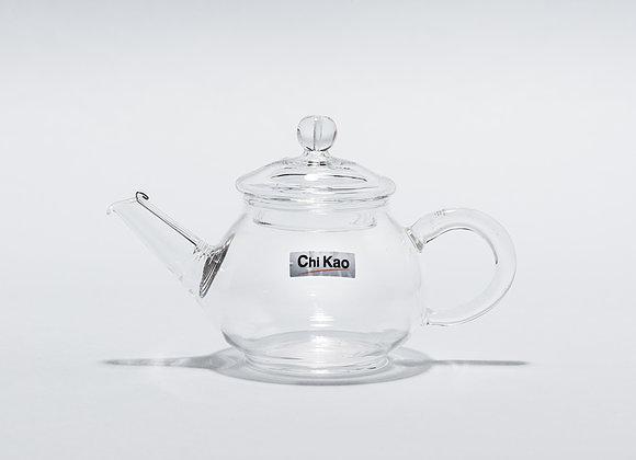 """Стеклянный заварник для чая """"CHI KAO"""" 150мл."""