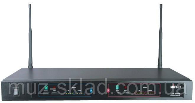 Mipro ACT-707DE двухканальный приёмник UHF на 100 каналов