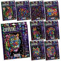Набір креативної творчості  quot;CRYSTAL MOSAIC quot; (20), CRM-01-01,02,03,04...10 ДАНКО ТОЙС