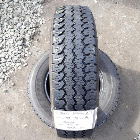 Шины б.у. 195.75.r16с Dunlop SP LT800 Данлоп. Резина бу для микроавтобусов. Автошина усиленная. Цешка