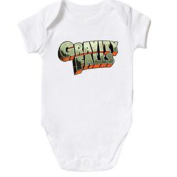 Детское боди Gravity Falls лого