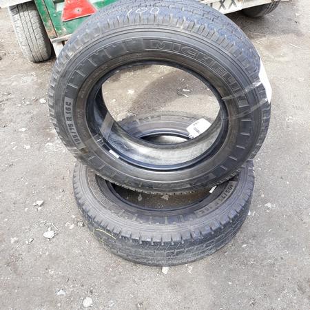 Бусовские шины б.у. / резина бу 195.75.r16с Michelin Agilis 81 Мишлен