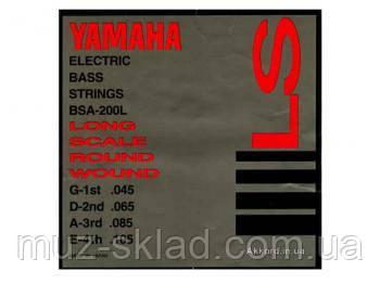 Комплект струн для 4-струнной бас-гитары Yamaha BSA200L