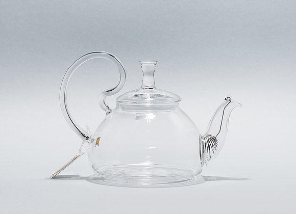"""Стеклянный заварник для чая """"CHI KAO"""" 600мл."""
