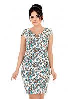 Красивое летнее платье из льна 52,54