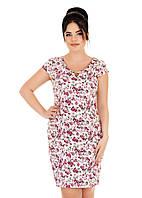 Красивое летнее платье из льна 52,54,56