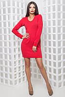 Женское платье Фиона Красный, 42-46