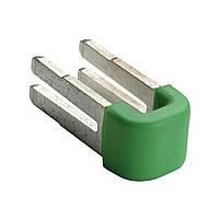Вставная перегородка HAGER для соединения  блоков РЕ-клемм 10шт (KN99E)