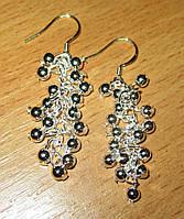 """Серебряные серьги """"Шарики"""" от студии LadyStyle.Biz, фото 1"""