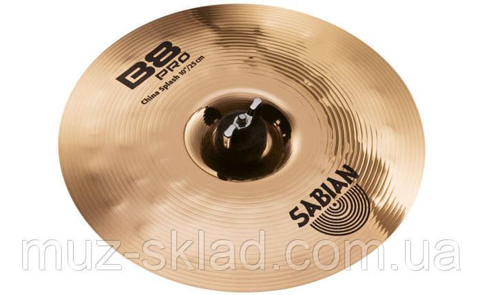 "Тарелка для барабанов SABIAN 31016B 10"" B8 Pro New China Splash"