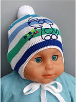 """Детская шапка  """"Дог""""  р.44-46см"""