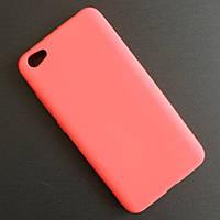 Матовый коралловый чехол для Xiaomi Redmi Note 5A/Redmi Y1, фото 1