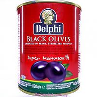 Маслины крупные Black Olives 850 мл
