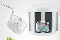 Мультиварка с фритюрницей, Мультиварка WIMPEX WX 5521, Мультиварка 900W, 5л 10-программ
