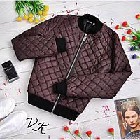 Женская стильная куртка с бусинками Мод. С-12