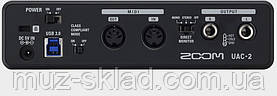 Zoom UAC2 USB3.0 аудиоинтерфейс 3 входа 2 выхода