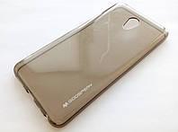 Чехол силиконовый Goospery для Meizu M5 Note затемненный