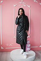 Женская длинная куртка -плащ мод.С 17  Топ продаж!!!