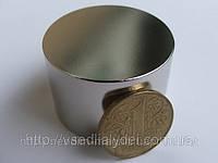 Неодимовый магнит 45Х25 купить,высокая намагниченность N42