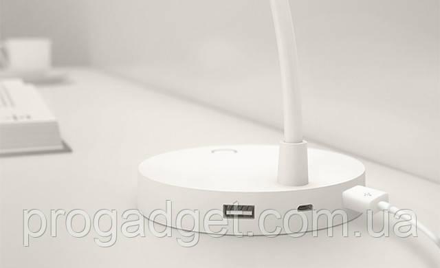 Настольная лампа Xiaomi COOWOO U1 Smart Table Lamp (White) со встроеным повербанком на 4000 мАч