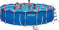 Каркасный бассейн Intex 28252 (54952). Сборный Metal Frame 549 x 122 см