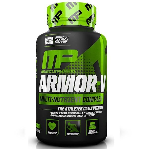 Витамины Muscle Pharm Armor-V 120 caps