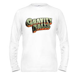 Лонгслив Gravity Falls лого