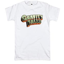 Футболка Gravity Falls лого