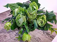 Букет ранункулюсов. Светло-зеленый, фото 1