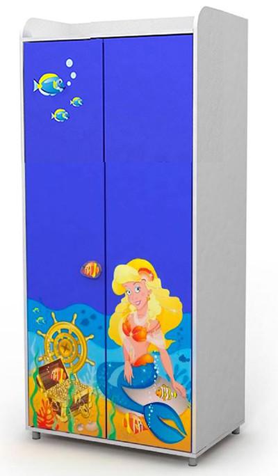 Двухдверный шкаф Od-02-5 Ocean (Русалочка)