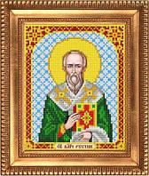 """Схема для вышивки бисером, именная икона """"Святой Великомученик Рустик (Руслан)"""" И-5174"""