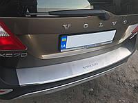 Volvo XC70 Накладка на задний бампер (нерж)