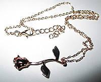 """Позолоченный кулончик   """"Роза"""" от студии LadyStyle.Biz, фото 1"""