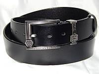 Ремень мужской кожаный PHILIPP PLEIN ширина 40 мм. реплика 930596