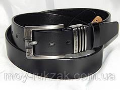 Ремень мужской кожаный Calvin Klein ширина 40 мм. реплика 930594