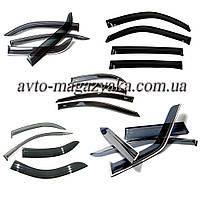 Дефлекторы на боковые стекла Chevrolet Aveo I Sd 2003-2006 COBRA TUNING